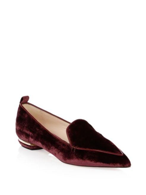 Nicholas Kirkwood Beya Velvet Loafers