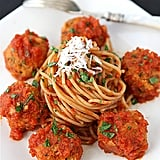 "Easy Vegetarian Recipe: Cannellini Bean Vegetarian ""Meatballs"" With Tomato Sauce"
