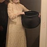 Kirsten Dunst as a Spooky Bride