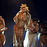 Beyonce Knowles at the 2017 Grammys