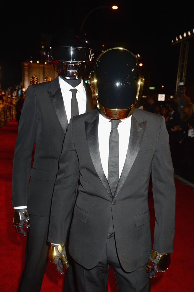 Daft Punk attended the MTV VMAs.