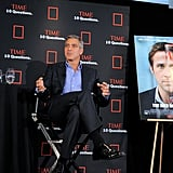 George Clooney promoted The Ides of March in NYC.