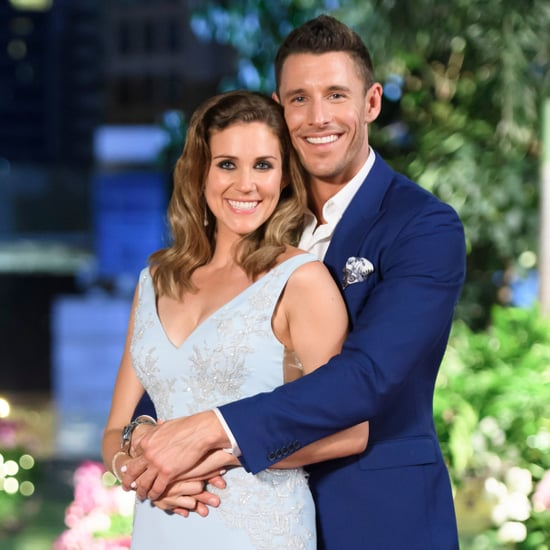 Pictures of Georgia Love and Lee Elliott on The Bachelorette