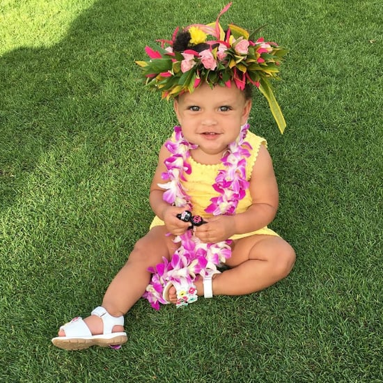 Ryan Curry First Birthday Pictures in Hawaii