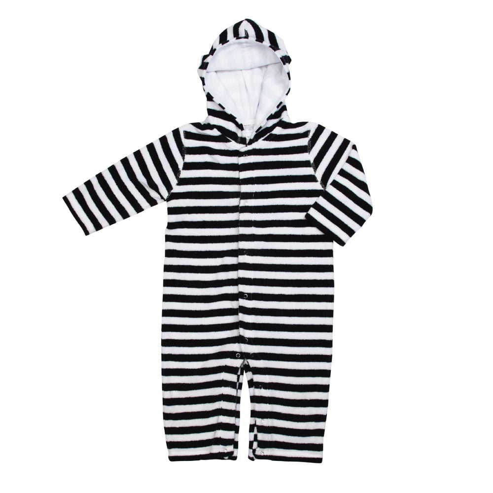 The absolute coziest way to towel off postswim, Snapper Rock's Towel Stripe One-Piece ($42) will keep your little boy or girl snuggly and safe from the sun.