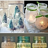 Mason Jar Holiday Decor