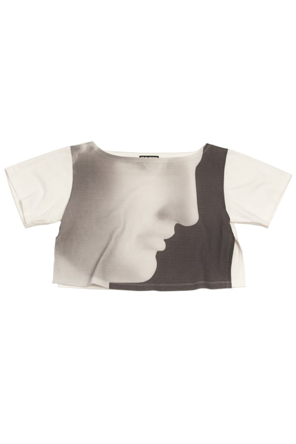 Ermes, 1988 cropped t-shirt