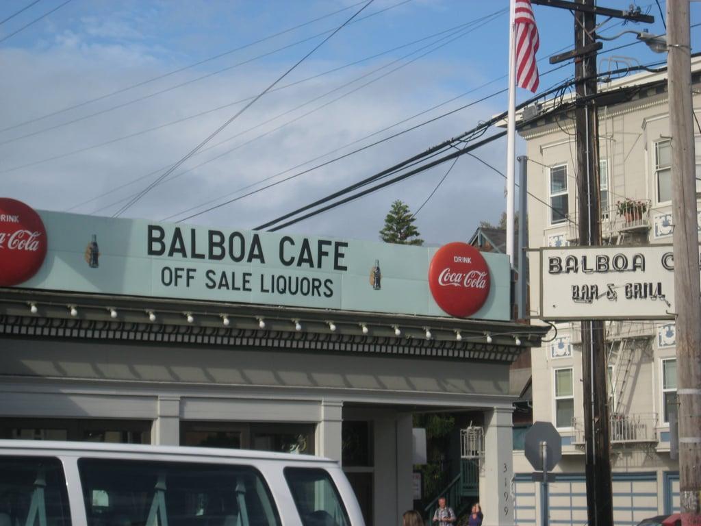 San Francisco's Balboa Cafe.