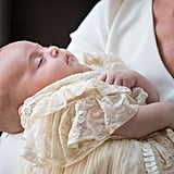 Prince Louis Sleeping at Christening July 2018