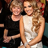 Carrie Underwood brought her mum, Carole, to the show.