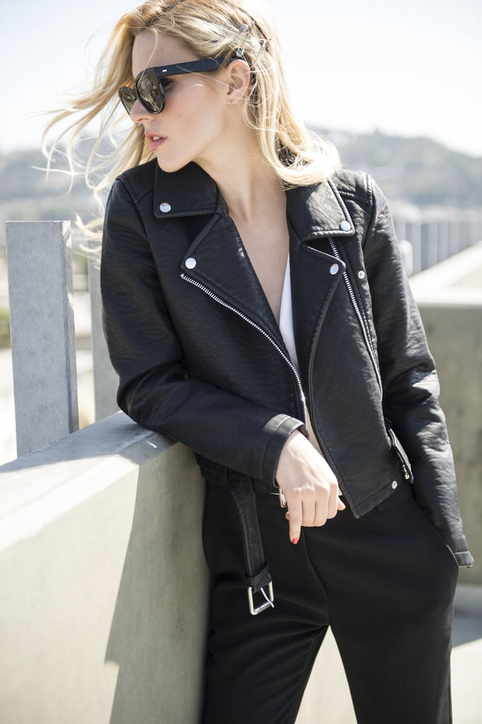 A Luxe Leather Jacket