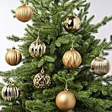 Vinterfest Gold Ornaments