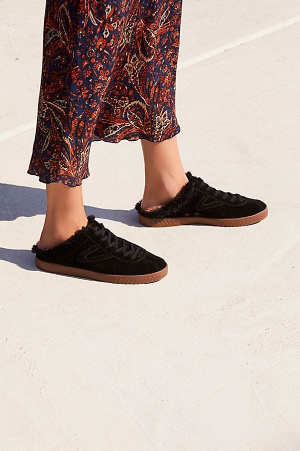 Tretorn Cam Mule Sneaker | 12 Shearling