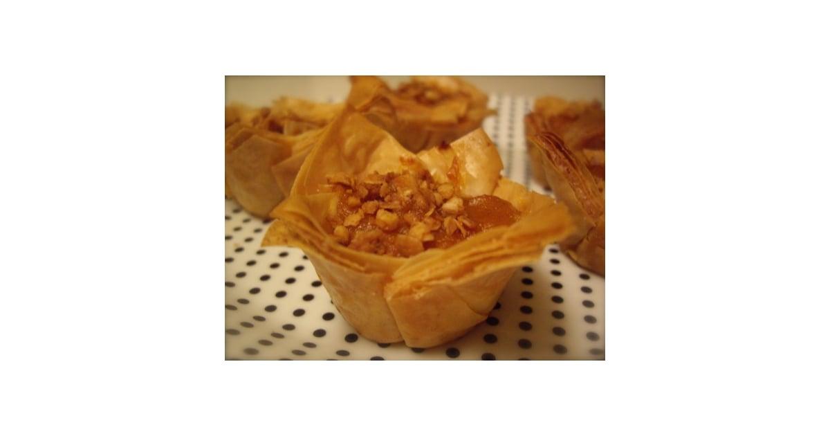 Bite size pumpkin pies with a baklava twist popsugar food for Pumpkin pie with a twist