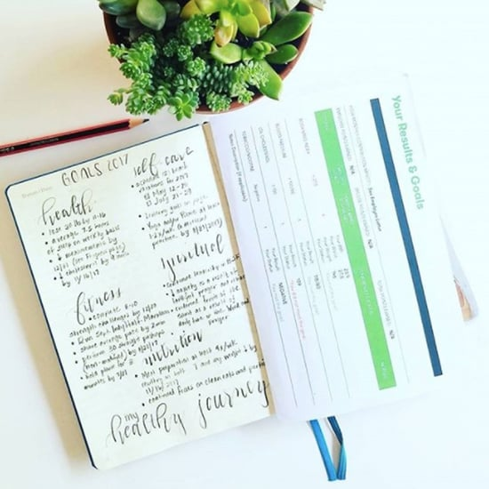 How to Keep Track of Fitness Goals in a Bullet Journal