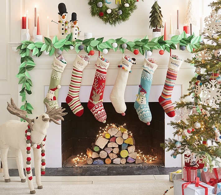 Family Christmas Stockings.Merry And Bright Stocking Collection Start A New Tradition