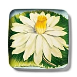 John Derian Flower-Print Melamine Square Serving Tray