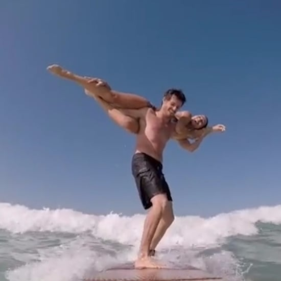 Acrobatic Surf Couple | Video