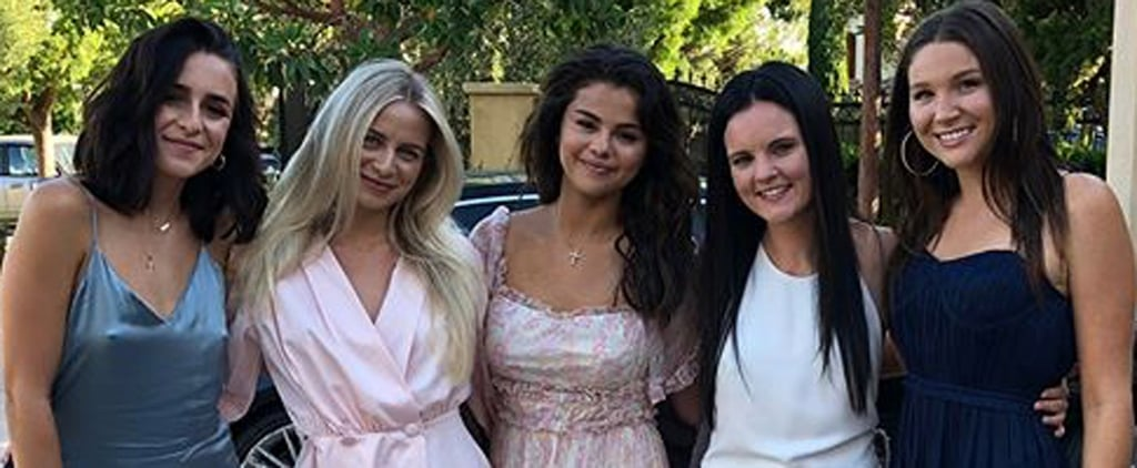 Selena Gomez Birthday Dress 2018