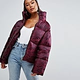 Asos Puffer Coat in Camo