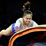Gymnast: Seojeong Yeo of the Republic of Korea