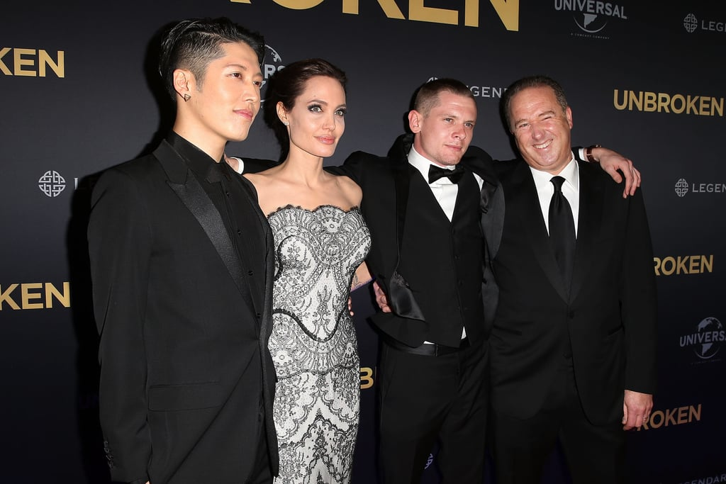 Miyavi Angelina Jolie Jack O Connell And Matthew Baer Angelina
