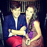 Hailee Steinfeld hung out with Andrew Bevan during NYFW. Source: Instagram user haileesteinfeld