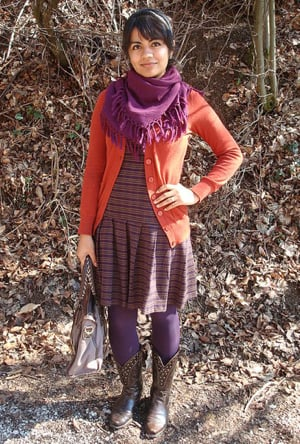 Look of the Day: Funky in the Fields