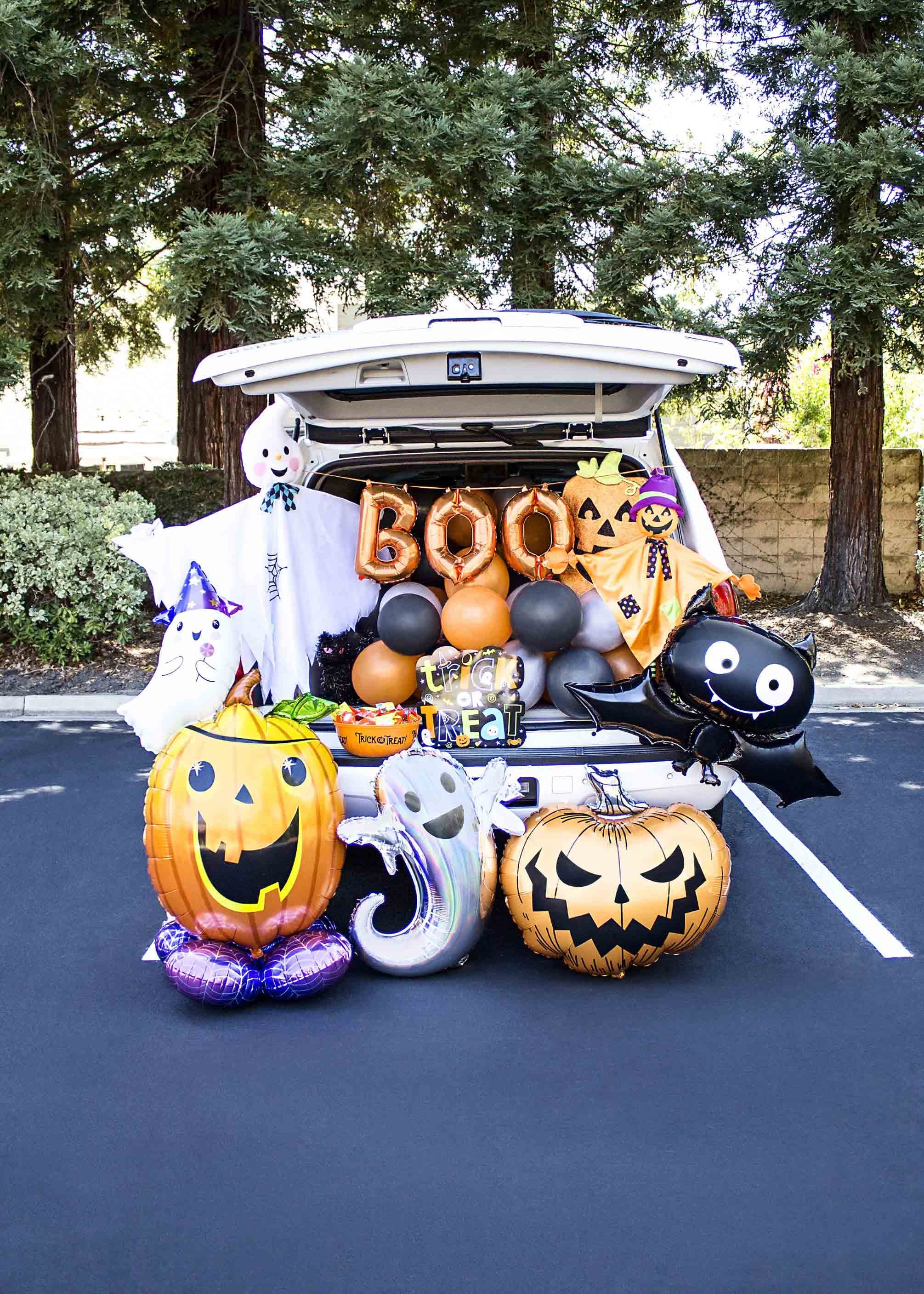 Halloween Trunk Or Treat Near Me 2020 Party City Halloween Trunk or Treat Car Decor Ideas 2020