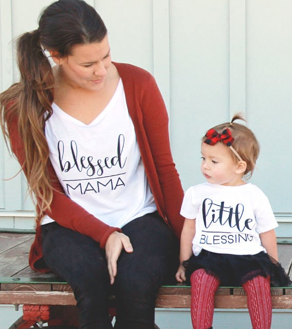 12a327f4 Matching Mom and Kid Shirts | POPSUGAR Family