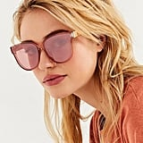 Urban Outfitters Hannah Translucent Cat-Eye Sunglasses
