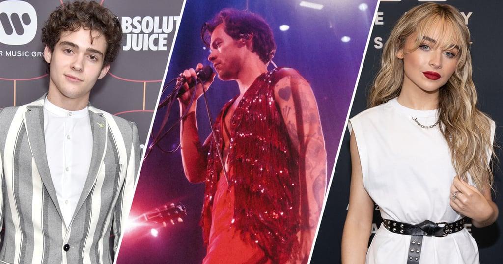Joshua Bassett Lives His Best Life at Harry Styles Concert