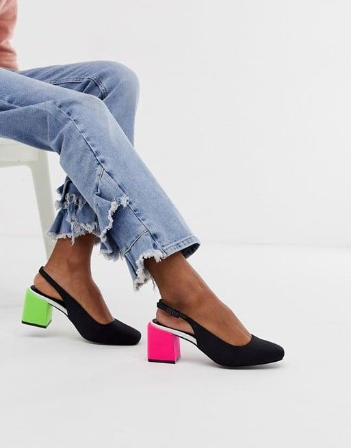73aa02df591 ASOS Design Santiago Mis-Match Heels