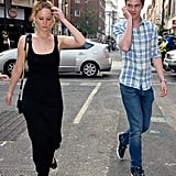 Jennifer Lawrence and Her Boyfriend Hang Out in London