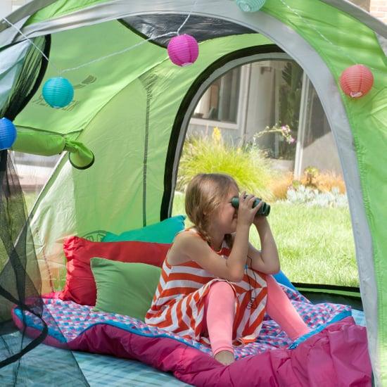 Backyard Camping With Kids