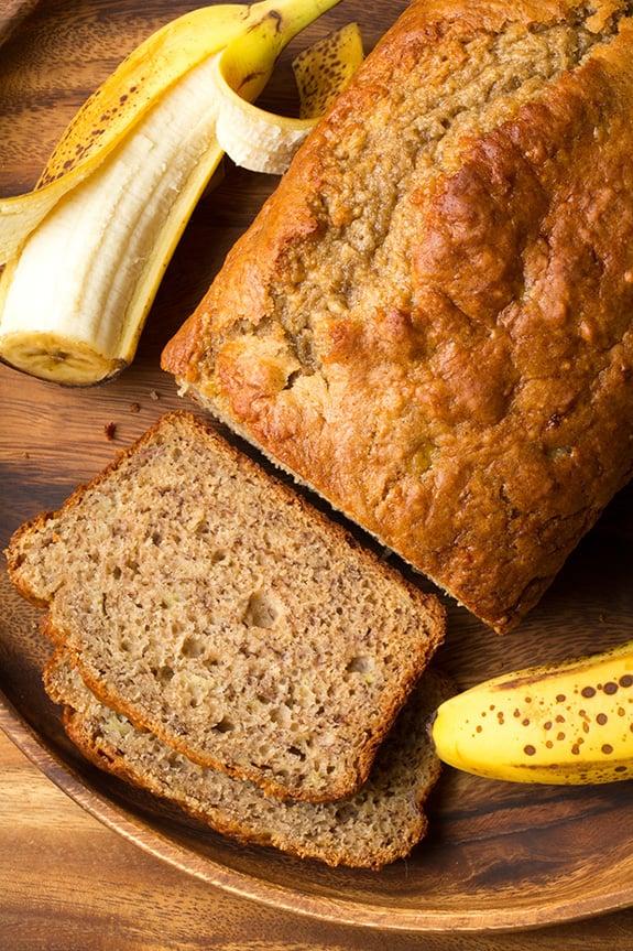 Lightened-Up Banana Bread