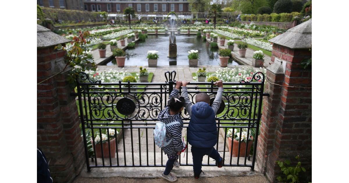 Princess Diana 39 S White Garden Popsugar Home Photo 2