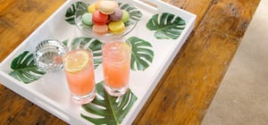 This DIY Tray Will Add a Tropical Touch to Whatever You're Serving