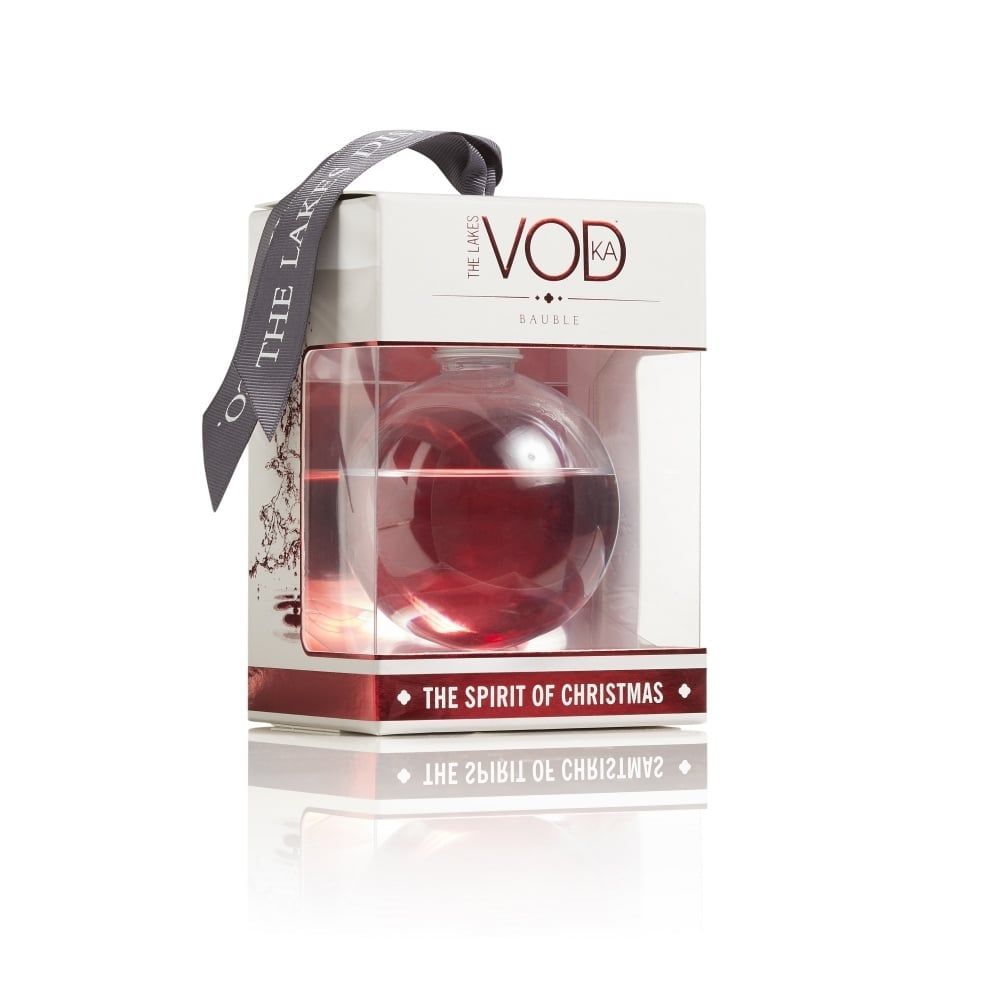 The Lakes Vodka Bauble ($26)