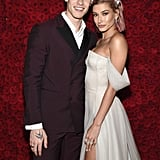 Pictured: Shawn Mendes and Hailey Baldwin