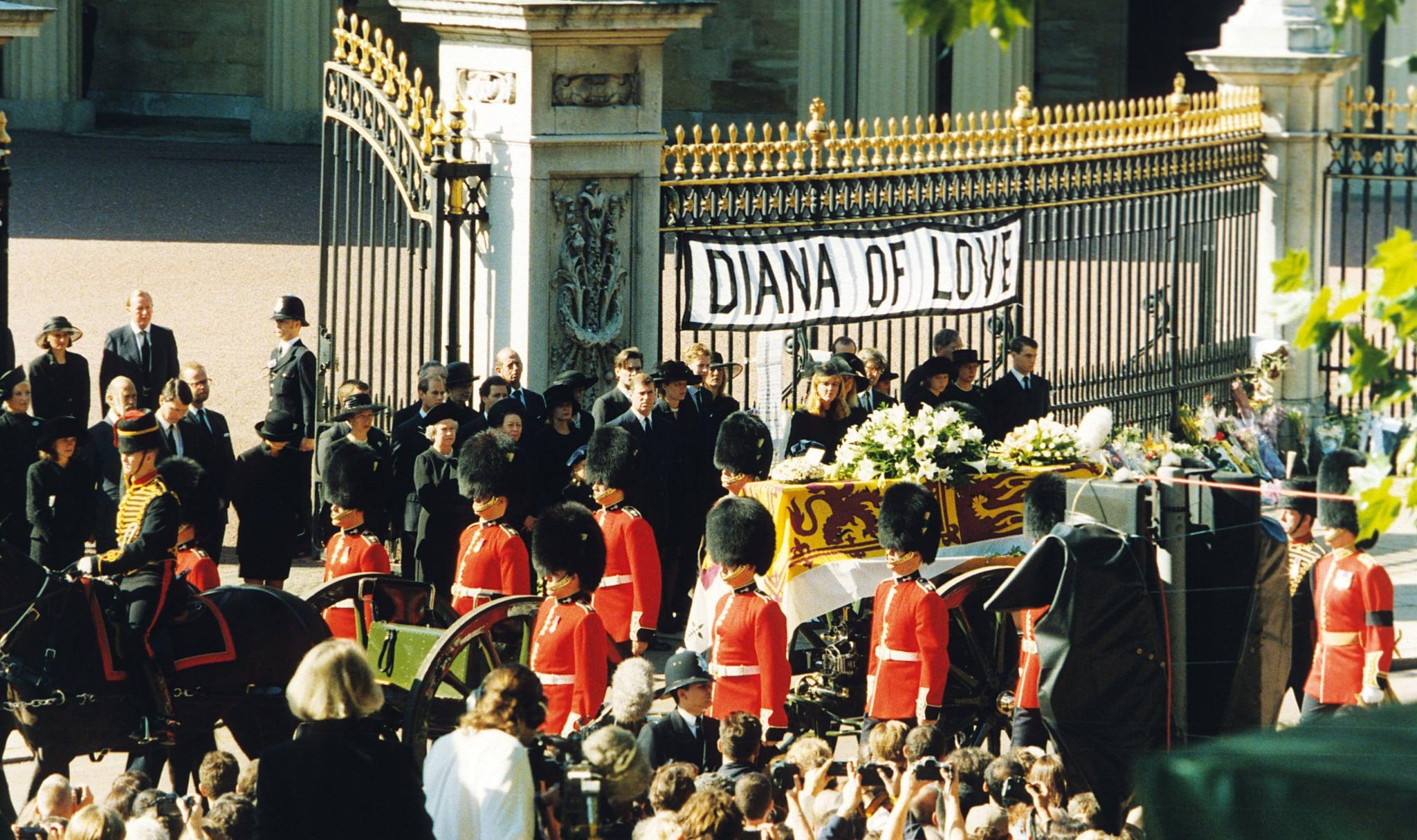 Princess Diana Gravesite Princess Diana Funeral Details Popsugar Celebrity