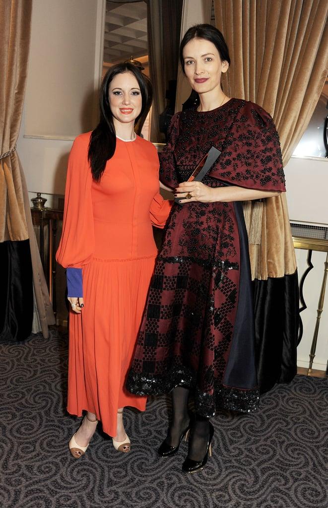 Andrea Riseborough and Roksanda Ilincic