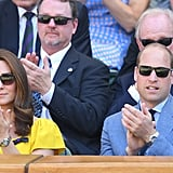 Prince William and Kate Middleton at Wimbledon Pictures 2018