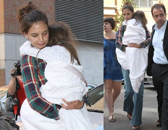 Pictures of Katie Holmes With Suri Cruise in NYC