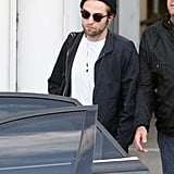 Robert Pattinson touched down in Sydney.