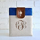 Add a personal touch to a standard tech gift by getting mom this sweet iPad sleeve ($50) monogrammed with her initials.