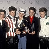 The boys of New Kids on the Block won an award in 1990.