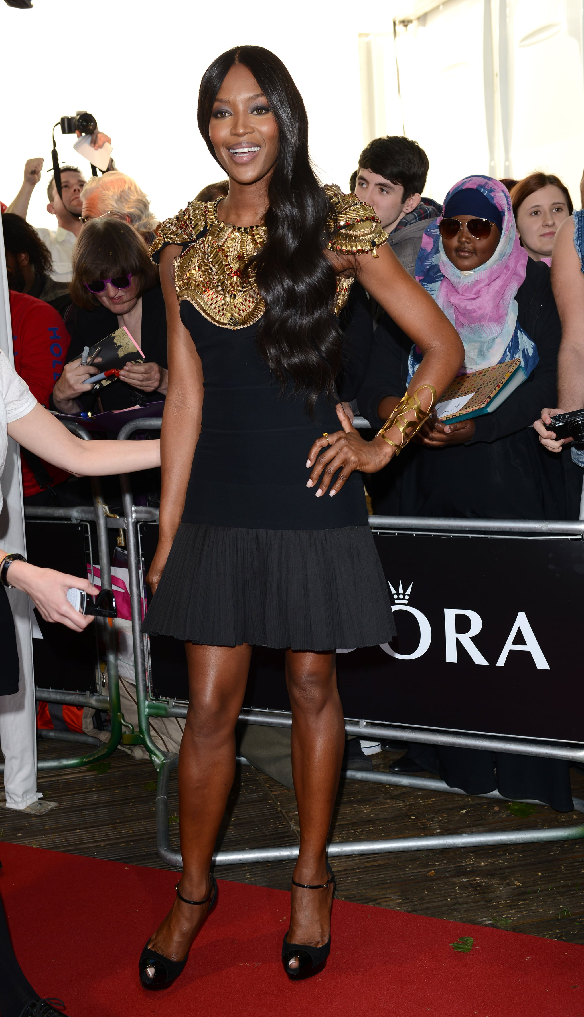Naomi Campbell at the 2013 Glamour Women of the Year awards.