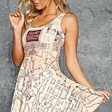 Marauder's Map Reversible Skater Dress