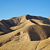 The Negev desert covers more than half of Israel, so don't get lost trying to find Masada!